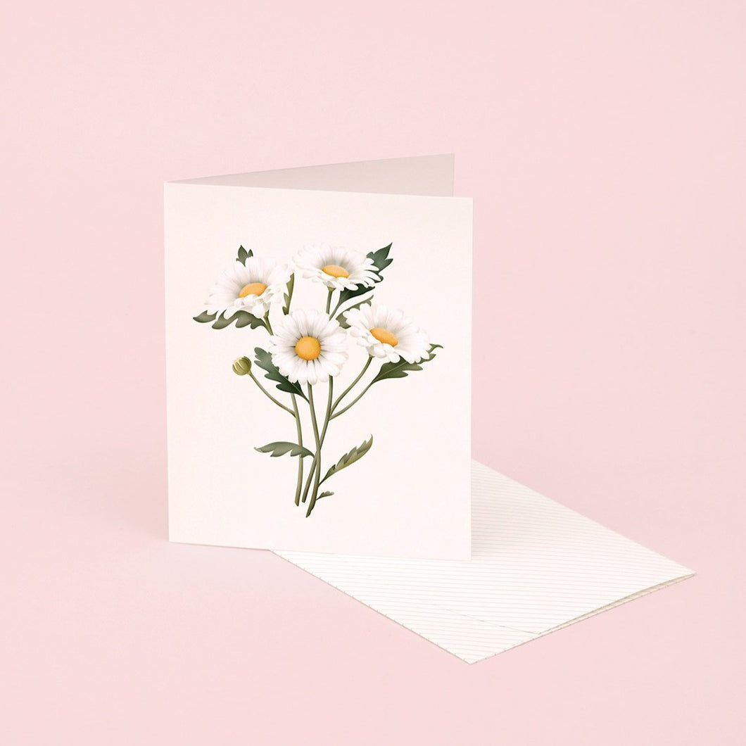 Botanical Scented Card - Daisy | Paper & Cards Studio