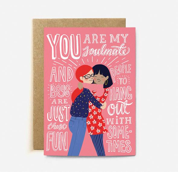 Soulmates Card | Paper & Cards Studio
