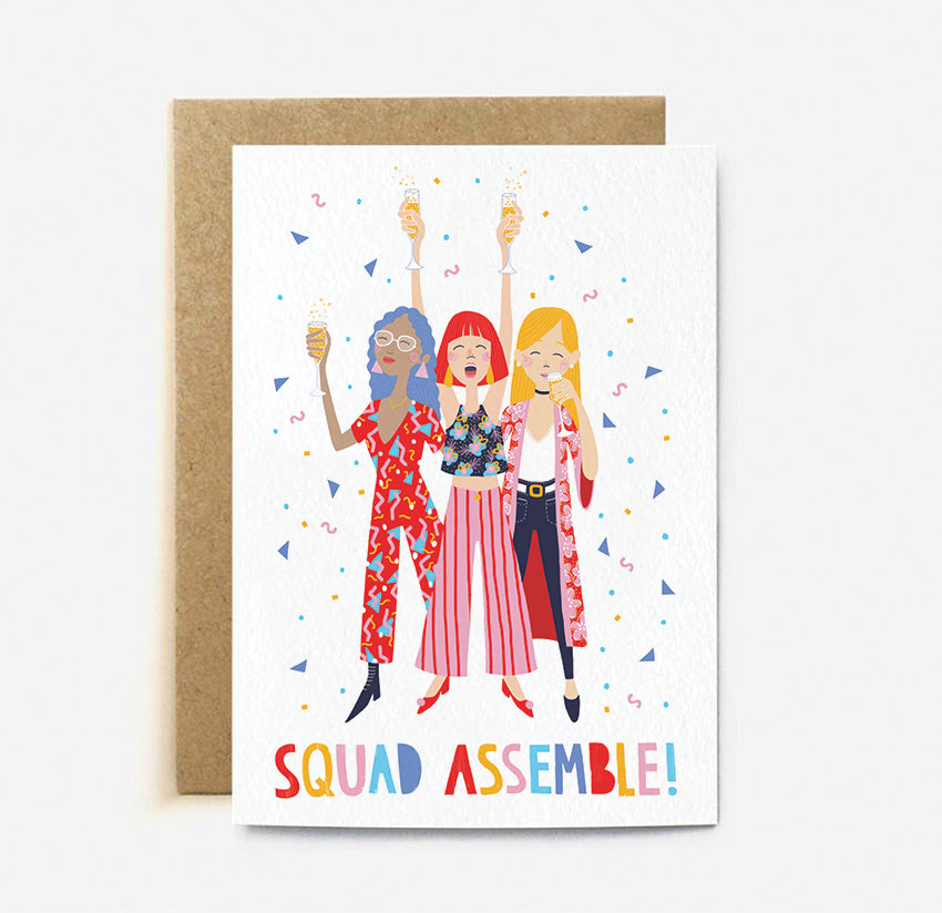 Squad Assemble | Paper & Cards Studio