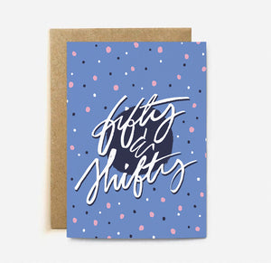 Fifty Shifty | Paper & Cards Studio