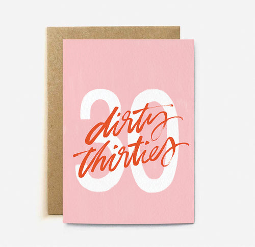 Dirty Thirties | Paper & Cards Studio