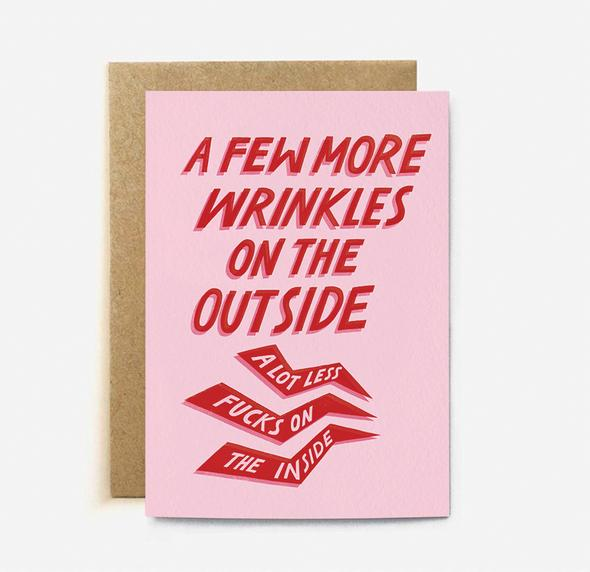 Few More Wrinkles Card | Paper & Cards Studio