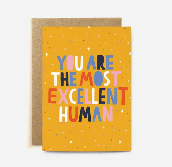 Excellent Human Card | Paper & Cards Studio