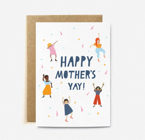 Mother's Yay Card | Paper & Cards Studio