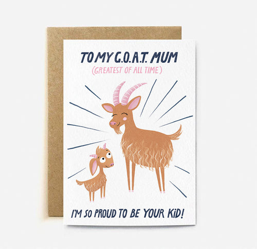 Goat Mum Card | Paper & Cards Studio