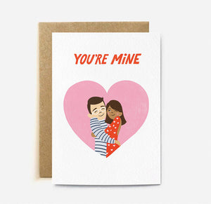 You're Mine Card | Paper & Cards Studio