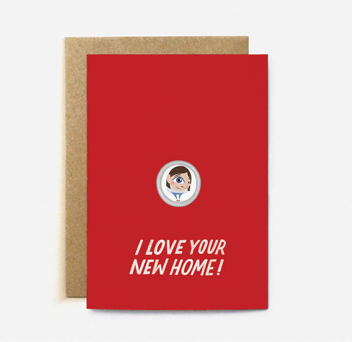 New Home Card - Paper & Cards Studio Hong Kong