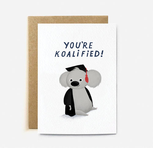 Koalafied Card | Paper & Cards Studio