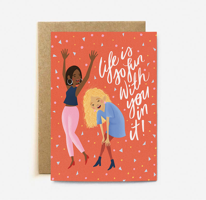 Fun Life Card | Paper & Cards Studio