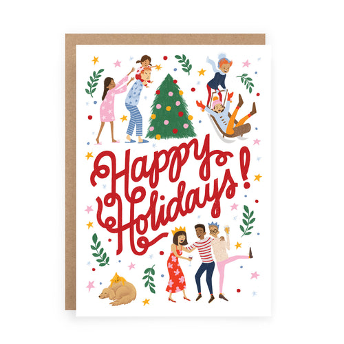 Happy Holidays Card | Paper & Cards Studio