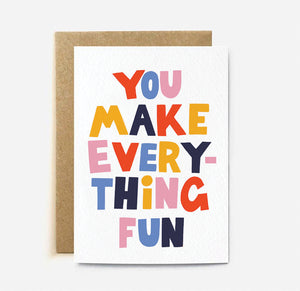 Everything Fun Card | Paper & Cards Studio