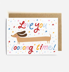 Long Time Card | Paper & Cards Studio