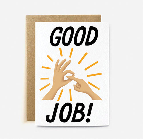 Good Job | Paper & Cards Studio