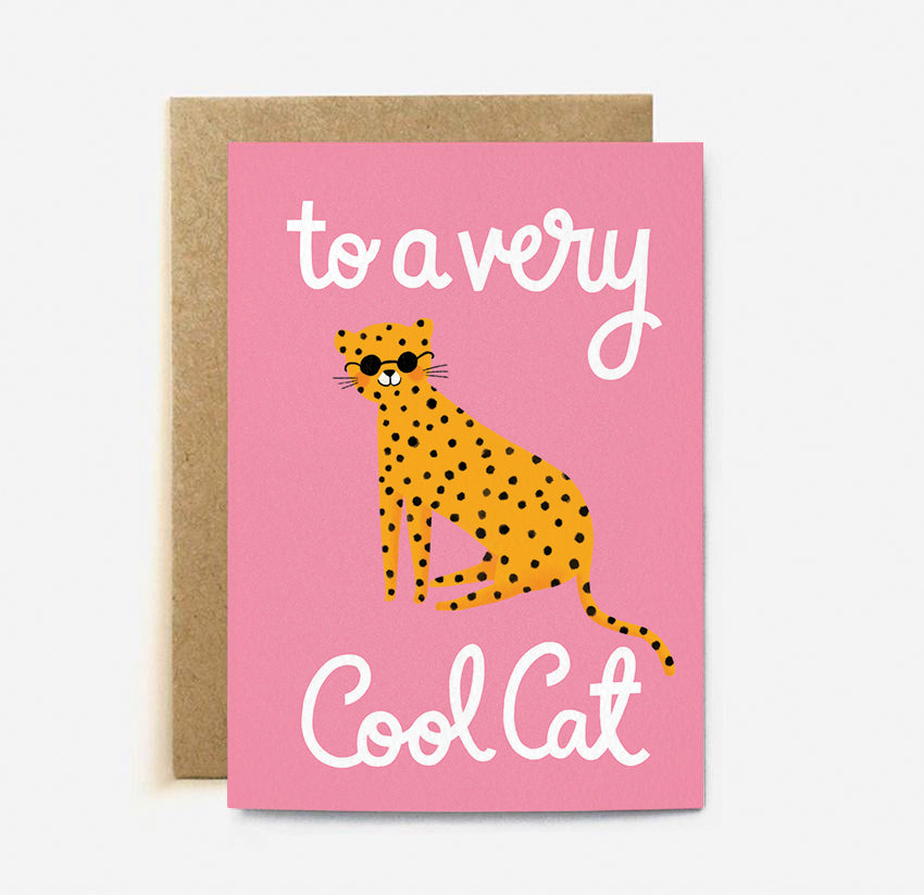 Cool Cat | Paper & Cards Studio