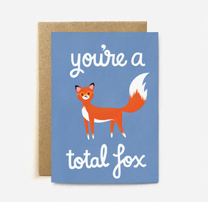 Total Fox | Paper & Cards Studio