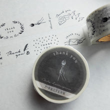 Load image into Gallery viewer, Thank You Masking Tape | Paper & Cards Studio