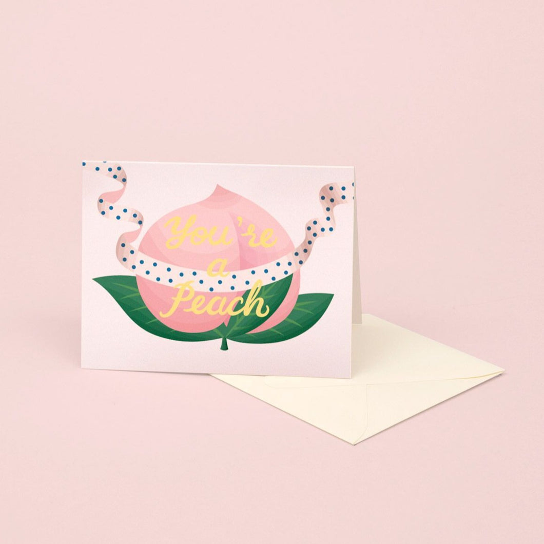 You Are A Peach | Paper & Cards Studio