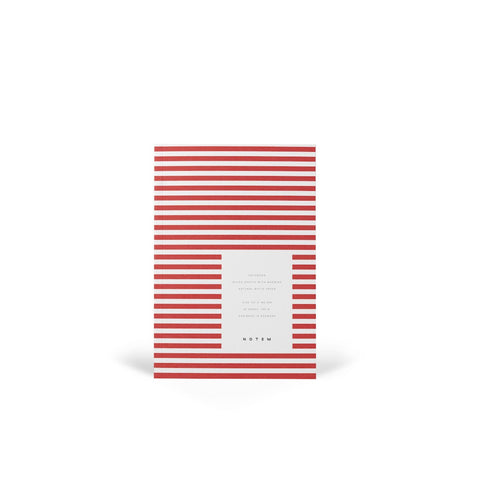 VITA Softcover Notebook - Small, Bright Red, Lined