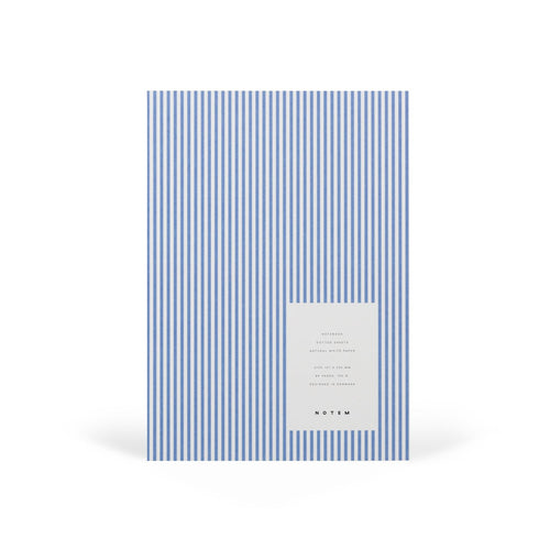 VITA Softcover Notebook - Medium, Blue Lines, Dot Grid