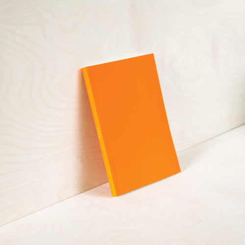 Layflat Weekly Planner in Orange | Paper & Cards Studio