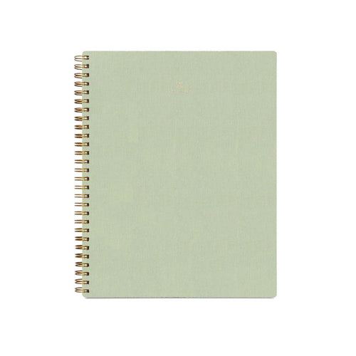 Appointed Dot Grid Workbook in Sage Green | Paper & Cards Studio