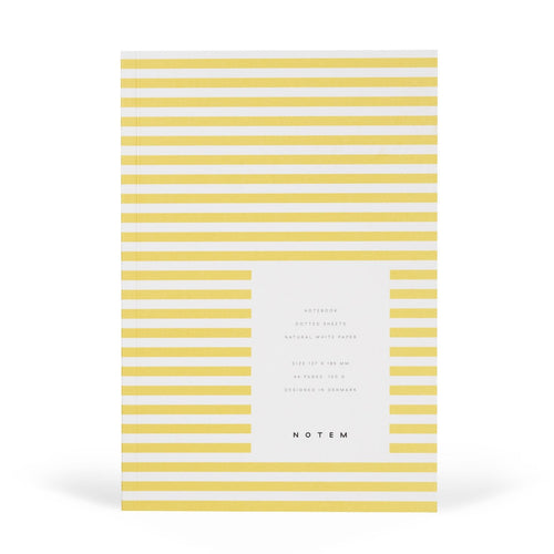 VITA Softcover Notebook - Small, Yellow, Dot Grid