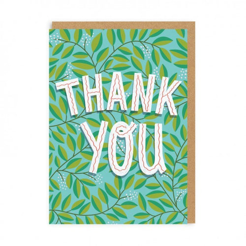 Thank You Card | Paper & Cards Studio