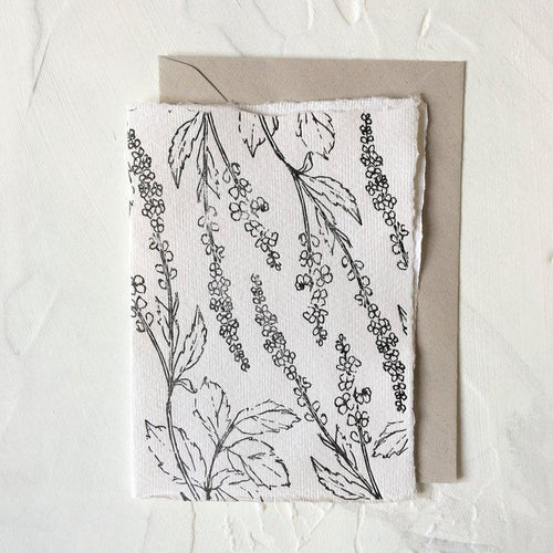 Floral Agrimony Pattern | Paper & Cards Studio