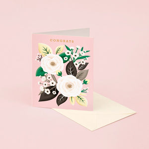 White Rose Congratulations | Paper & Cards Studio