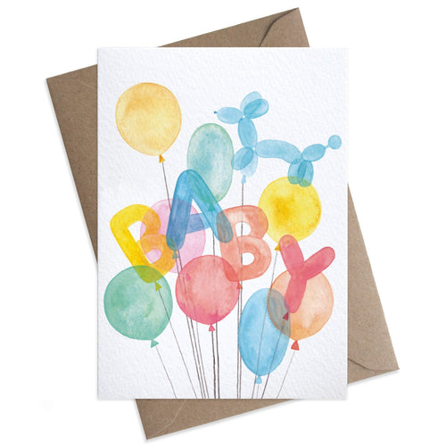 Baby Balloons | Paper & Cards Studio