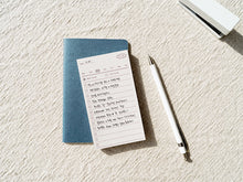 Load image into Gallery viewer, Plain Memo Pad - Weekly Memo | Paper & Cards Studio