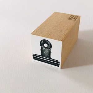 Bulldog Clip Stamp | Paper & Cards Studio