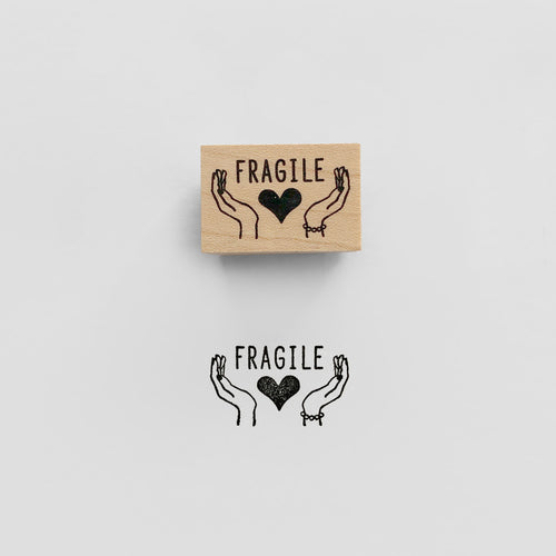 Fragile Stamp | Paper & Cards Studio