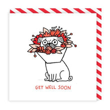 Load image into Gallery viewer, Get Well Soon Square Card | Paper & Cards Studio