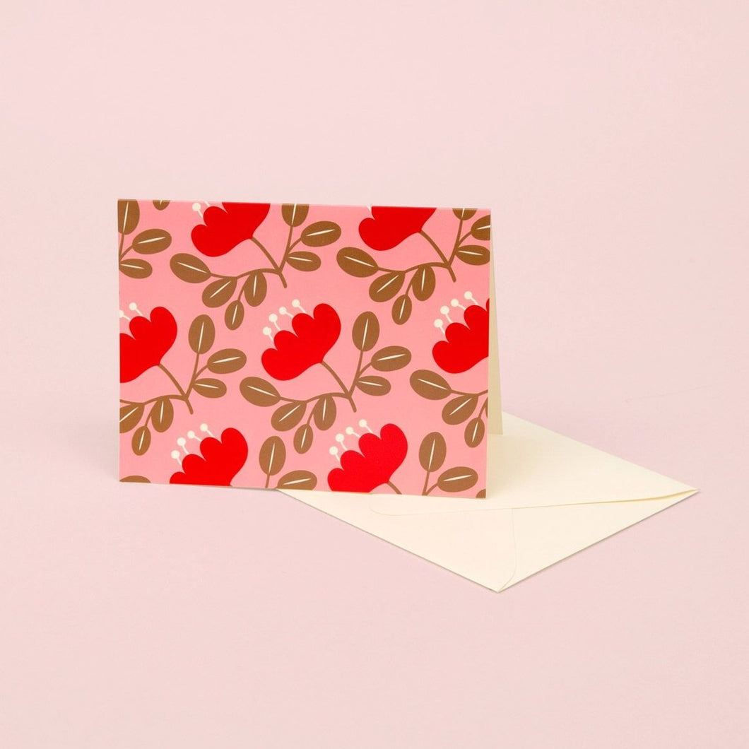 Blossom Gold - Red Petal | Paper & Cards Studio