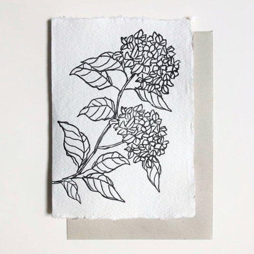 Floral Hydrangea | Paper & Cards Studio