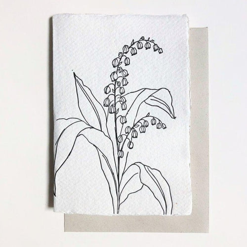 Floral Lily Of The Valley | Paper & Cards Studio