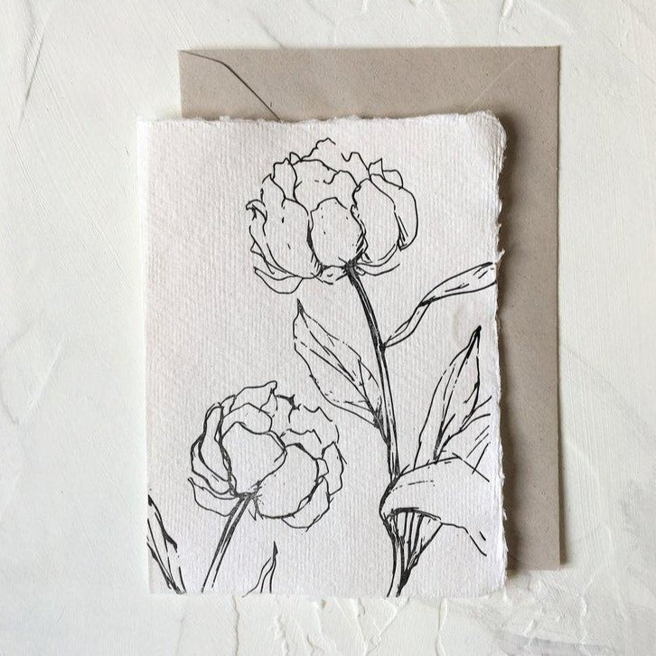 Floral Peony | Paper & Cards Studio