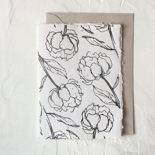 Floral Peony Pattern | Paper & Cards Studio
