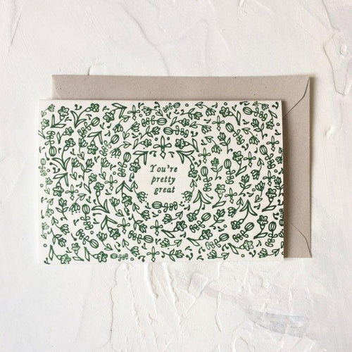 Floral Pattern Pretty Great | Paper & Cards Studio