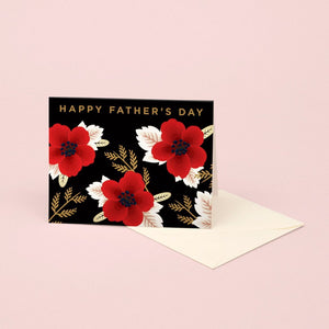 Wildflowers Happy Father | Paper & Cards Studio