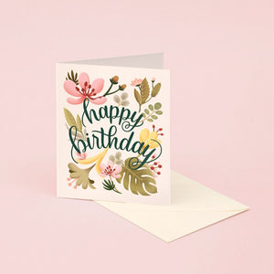 Tropical Plants Birthday | Paper & Cards Studio