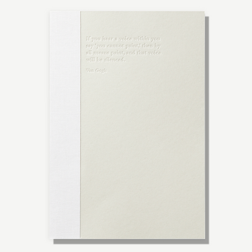 Drawing Note - Light Grey | Paper & Cards Studio