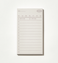 Load image into Gallery viewer, Plain Memo Pad - To-Do Memo | Paper & Cards Studio