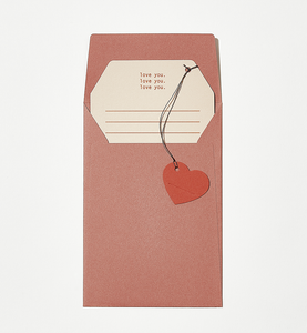 Message Card - Love You | Paper & Cards Studio
