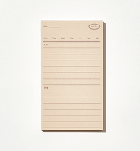 Load image into Gallery viewer, Plain Memo Pad - Daily Memo | Paper & Cards Studio