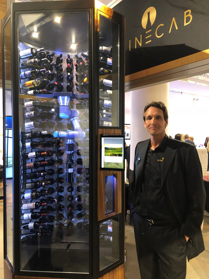 Mark Chaney CEO Innovator of WineCab and Calvary Robotics