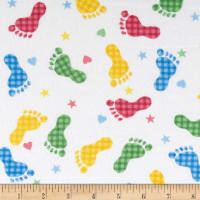 COMFY FLANNEL 9307-78 RAINBOW FOOTPRINT