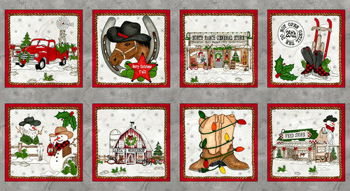 GIDDYUP SANTA BLOCKS 1167P-90