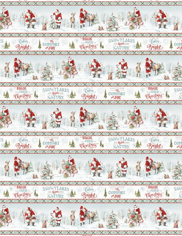 A MAGICAL CHRISTMAS 86460-417 BORDER PRINT